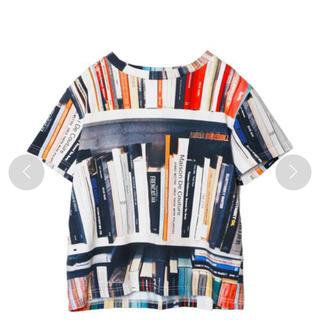 アメリヴィンテージ(Ameri VINTAGE)のAMERI MANY BOOKS TEE  リボンベルト無し(Tシャツ(半袖/袖なし))