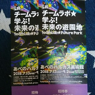 チームラボ☆あべのハルカス(遊園地/テーマパーク)