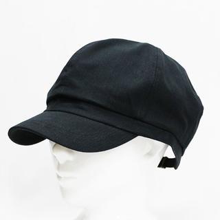 帽子 大きいサイズ キャスケット ラージ(ビッグ) ブラック 値下げ!(キャスケット)