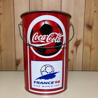 コカコーラ(コカ・コーラ)のコカコーラバケツ缶(小物入れ)