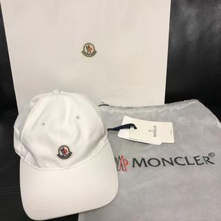 モンクレール(MONCLER)の正規品 MONCLER 2018最新作 モンクレール キャップ キッズ 56(キャップ)