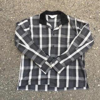 サンシー(SUNSEA)のsunsea check gigolo shirt(シャツ)