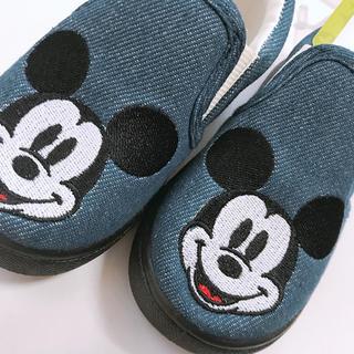 ディズニー(Disney)のミッキー スリッポン(スリッポン)