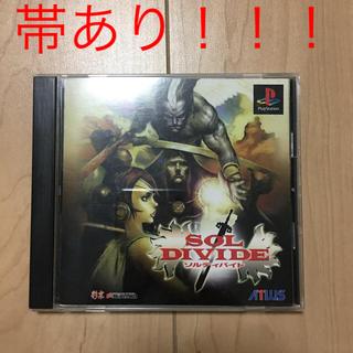 プレイステーション(PlayStation)の【PS】ソルディバイド 中古(家庭用ゲームソフト)