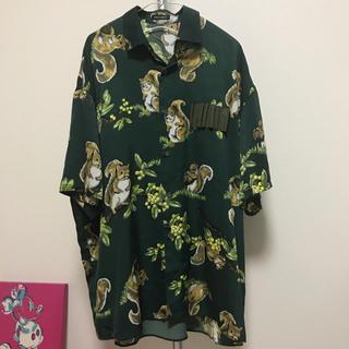 ミルクボーイ(MILKBOY)のぽんたん様 専用 MILKBOY リスアロハシャツ(シャツ)