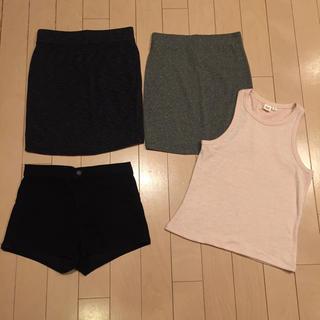 エイチアンドエム(H&M)のファストファッション4点セット(セット/コーデ)
