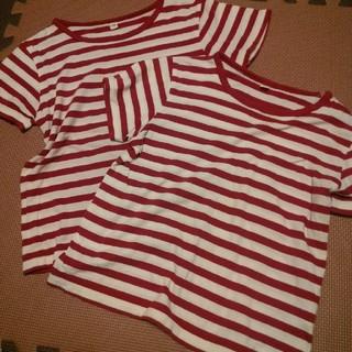 ムジルシリョウヒン(MUJI (無印良品))の120 良品計画 Tシャツ 二枚セット(Tシャツ/カットソー)