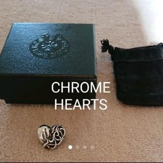 クロムハーツ(Chrome Hearts)のCHROME HEARTS☆クロムハーツ ヘアゴム トップ ハート シルバー(ヘアゴム/シュシュ)