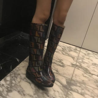 FENDI - フェンディ FENDI レインブーツ 長靴