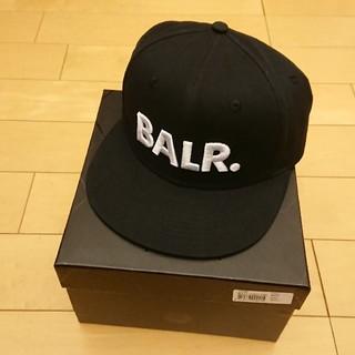 エフシーアールビー(F.C.R.B.)のBALR. ボーラー キャップ 黒 ブラック 化粧箱 袋付き(キャップ)