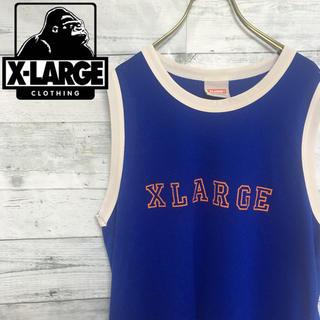 エクストララージ(XLARGE)のエクストララージ  ゲームシャツ タンクトップ ビッグロゴ スポーツミックス(タンクトップ)