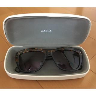 ザラ(ZARA)のZARAレディースサングラス 美品(サングラス/メガネ)