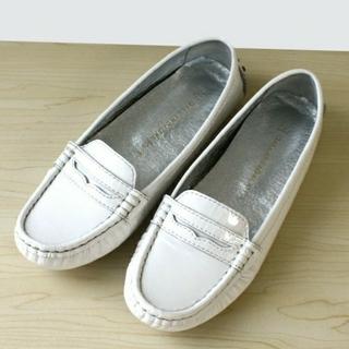 ガリャルダガランテ(GALLARDA GALANTE)のGALLARDAGALANTE  パテントドライビングシューズ(ローファー/革靴)
