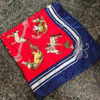 エルメス(Hermes)のアンティークエルメススカーフ(バンダナ/スカーフ)