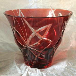トウヨウササキガラス(東洋佐々木ガラス)のキリコ オンザロック 蝶(グラス/カップ)