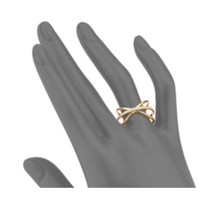 Michael Kors(マイケルコース)のMichael Kors Brilliance Crisscross リング レディースのアクセサリー(リング(指輪))の商品写真