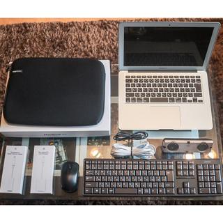 マック(Mac (Apple))の送料無料 MacBook Air 13インチ 128gb 充放電回数102回(ノートPC)
