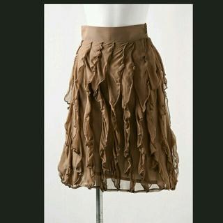 ニーナミュウ(Nina mew)の値下げNina Mew のフリルスカート(ひざ丈スカート)