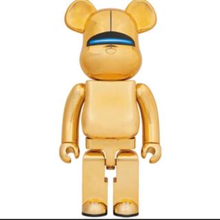 メディコムトイ(MEDICOM TOY)のSORAYAMA Sexy Robot Gold BE@RBRICK 1000%(模型/プラモデル)