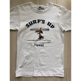 スヌーピー(SNOOPY)のスヌーピー Hawaii限定 Tシャツ SURFS UP(Tシャツ(半袖/袖なし))