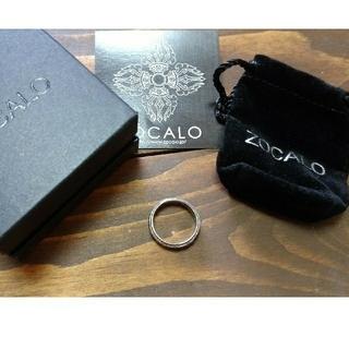 ソカロ(ZOCALO)のソカロZOCALOシルバー950指輪リングアイビー(リング(指輪))