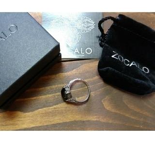 ソカロ(ZOCALO)のソカロZOCALOシルバー950指輪リングストーン(リング(指輪))