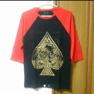 グラッサム(GRASUM)のGRASUM ラグラン スペード Tシャツ(Tシャツ/カットソー(半袖/袖なし))