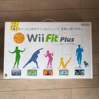 ウィー(Wii)のwii フィットプラス(家庭用ゲームソフト)