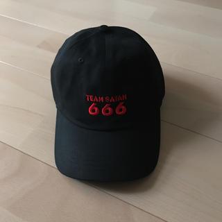 シックスシックスシックス(666)のTEAM SATAN 666cap(キャップ)