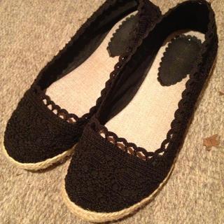 レトロガール(RETRO GIRL)のペタンコ靴(ミュール)