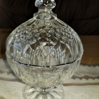 クリスタルダルク(Cristal D'Arques)のお値下げクリスタル.ダルクロンシャンボンボン(小物入れ)