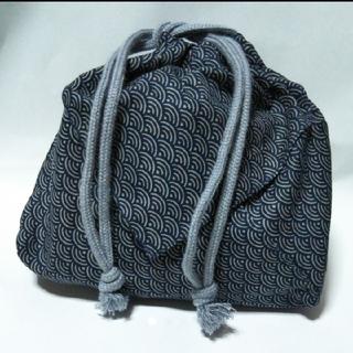 ハンドメイド 男性用 和装小物 巾着袋(和装小物)