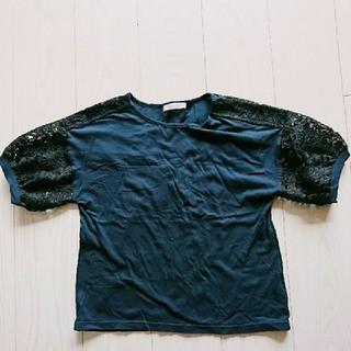 ショコラフィネローブ(chocol raffine robe)のchocol raffine トップス(カットソー(半袖/袖なし))