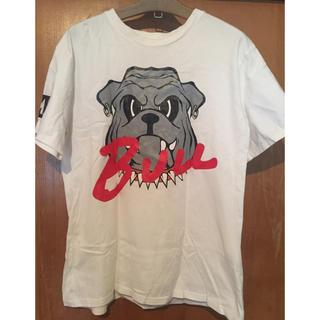 ダミー(DAMMY)のBULL ビッグロゴTシャツ ダンス 衣装 DAMMY(Tシャツ/カットソー(半袖/袖なし))