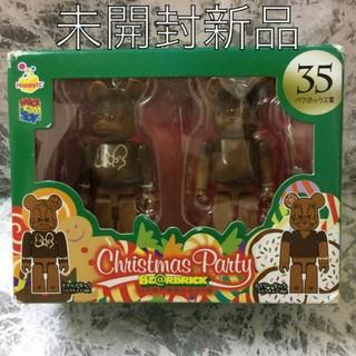 【ベアブリック】ドナルド デイジー ディズニー クリスマス パーティー 新品