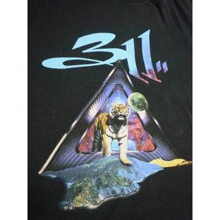送料込 anvil 311 スリーイレブン バンドTシャツ ロックT