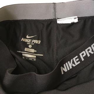 ナイキ(NIKE)の小さいサイズアメリカサイズXSナイキカプリタイツ着用感あり送料込400円(クロップドパンツ)
