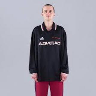 アディダス(adidas)のGosha Rubchinskiy  adidas  サッカーシャツ Lサイズ(Tシャツ/カットソー(七分/長袖))