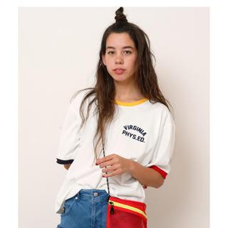 ダブルネーム(DOUBLE NAME)のリンガーTEE(Tシャツ(半袖/袖なし))