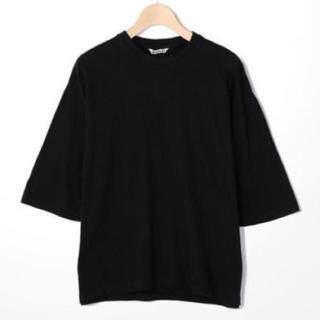 コモリ(COMOLI)のAURALEE  ハーフスリーブ Tshirt(Tシャツ(半袖/袖なし))