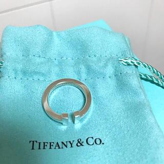 ティファニー(Tiffany & Co.)のTiffany Tリング シルバー 値下げしました!(リング(指輪))