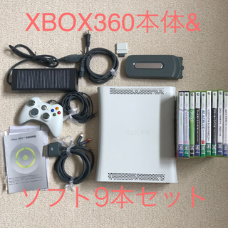 XBOX360本体&ソフトセット