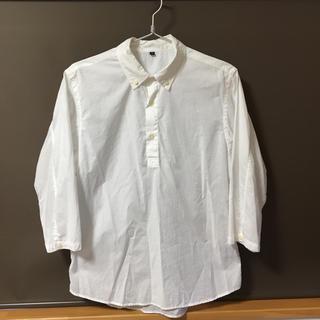 MUJI (無印良品) - 無印良品 プルオーバーシャツ