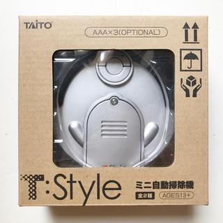 タイトー(TAITO)の【新品】T:Style ミニ自動掃除機 (箱付き)(掃除機)