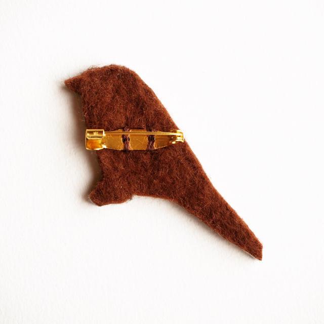 馬子様 オーダー品 ハンドメイドのアクセサリー(コサージュ/ブローチ)の商品写真