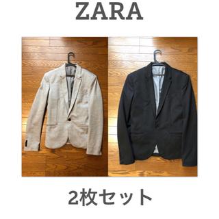 ザラ(ZARA)の☆送料無料☆ZARA☆ザラ☆テーラードジャケット☆2枚セット(テーラードジャケット)