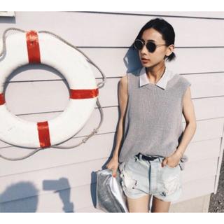 アメリヴィンテージ(Ameri VINTAGE)のAmeri summer knit vest(ニット/セーター)