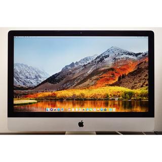 マック(Mac (Apple))のiMac 27インチ Late 2012 難あり ジャンク扱い(デスクトップ型PC)