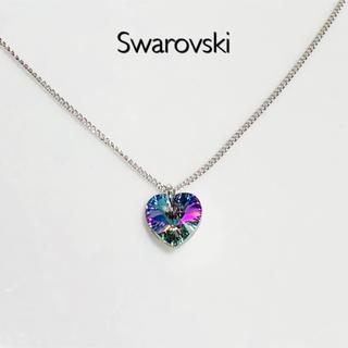 SWAROVSKI - スワロフスキーネックレス♡ヴィトレイルライトハート
