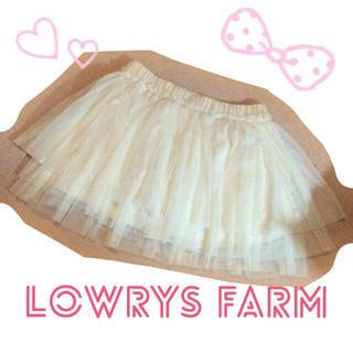 ローリーズファーム(LOWRYS FARM)のLOWRYS FARM♡チュールSK(ミニスカート)
